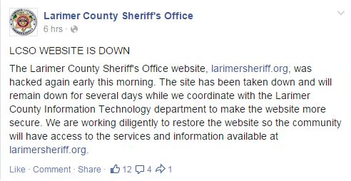 larimer-county-sheriffs-office-hacked-again-2nd-time-this-week