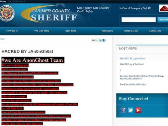 larimer-county-sheriffs-office-website-hacked-by-pro-palestinian-hackers