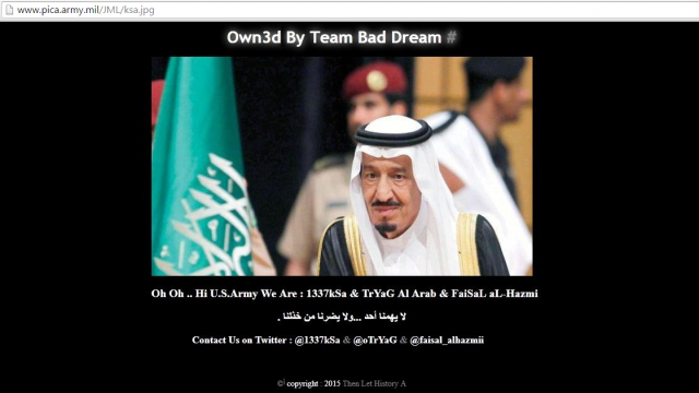 u-s-army-picatinny-arsenal-domain-hacked-by-saudi-hackers