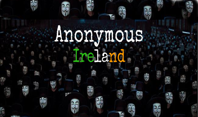 Anonymous Hackers Vow to Shutdown IT System of Irish Government