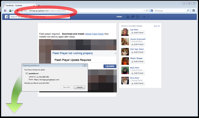 "Facebook users hit with ""Hot Video"" scam, delivering Trojan"