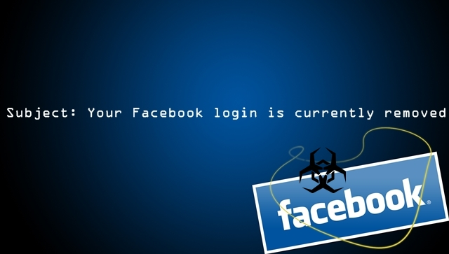 Facebook Users Hit with 'Your Facebook Login is Removed' Malware Email