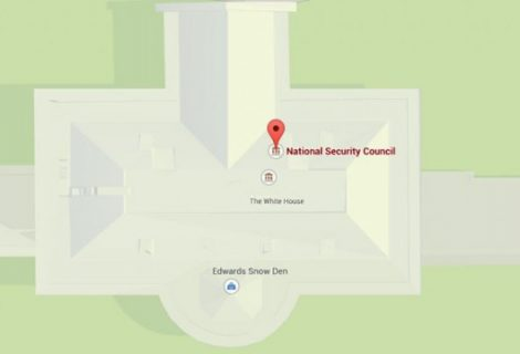 Google Maps Shows Edward Snowden Has Moved to White House