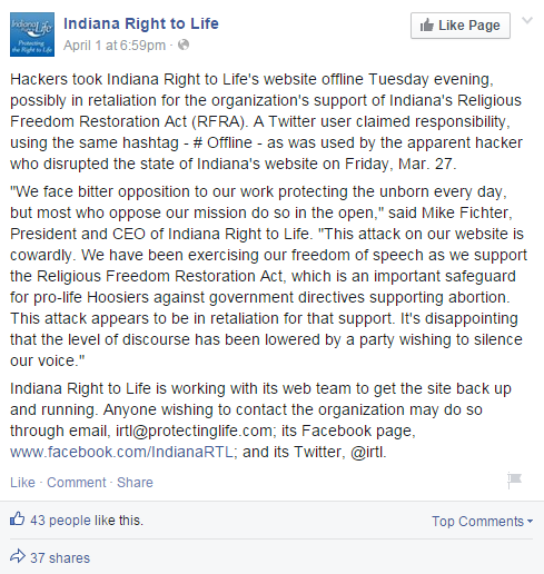 hackers-knockdown-indiana-right-to-life-website-for-supporting-anti-lgbt-law