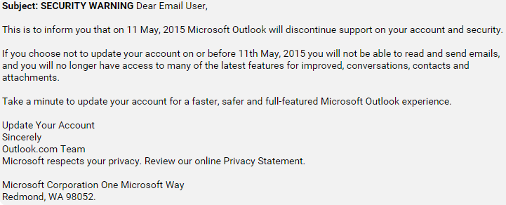 microsoft-outlook-users-hit-with-discontinue-support-phishing-scam