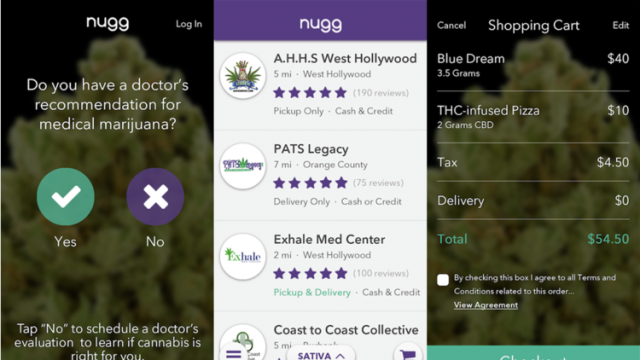 Nugg App Lets You Order Medical Marijuana From Your Smartphone