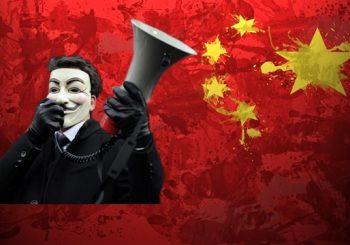 OperationChina: Anonymous Hacks Chinese Police, Govt. Websites