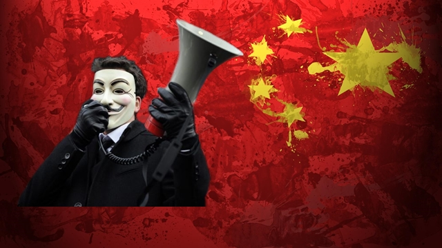 OperationChina: Anonymous Hacks Chinese Police, Govt. Websites
