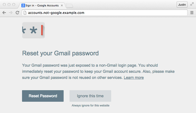 New Google Chrome extension will save you from Phishing Attacks