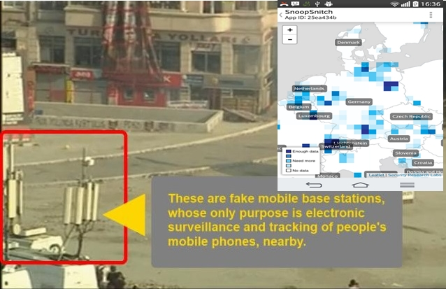 SnoopSnitch — An App That Detects Govt's Stingray Mobile Trackers