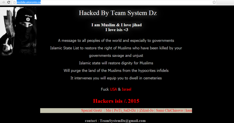 university-of-toronto-website-hacked-by-pro-isis-hackers
