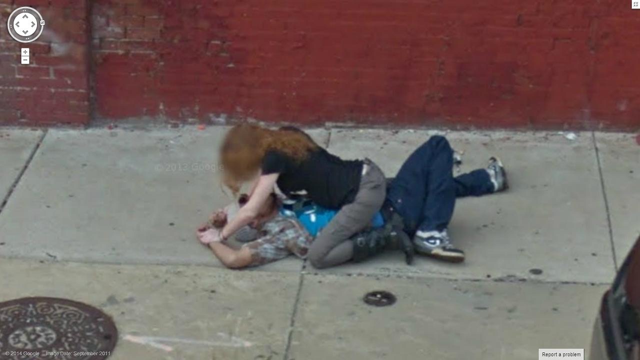 80 Funny Creepy Strange Disturbing Google Street View Images