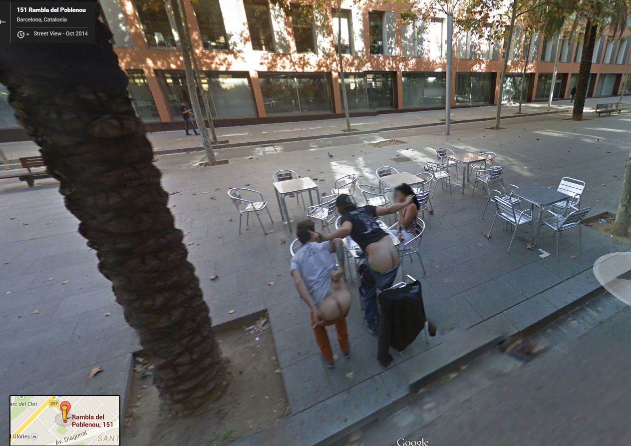 80 funniest creepiest strangest disturbing google street view