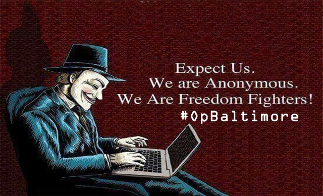 #OpBaltimore-Anonymous Leaks Emails, Passwords of Baltimore Police Department