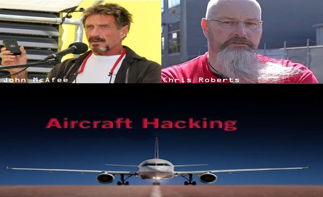 John McAfee supports his pal who found security flaw, hacked an aircraft