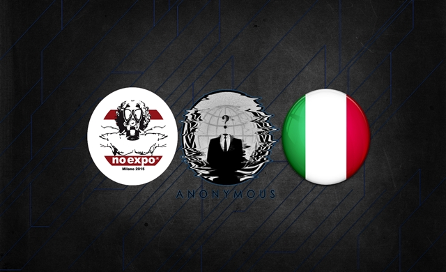 Anonymous Steals 1 Terabyte Passwords From Expo 2015 in Italy