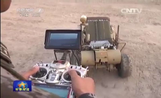 China's Newest Invention: The Minesweeping Robot
