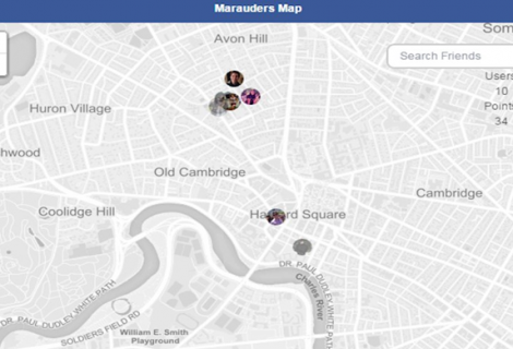 A Hack Lets You View map of Wherever Facebook knows you, your folks have been