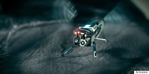 'Self aware' drones' as shown in Call of Duty: Advanced Warfare