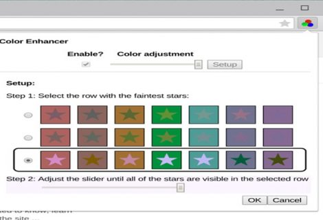Now Color-Blind people can View Web-- Thanks to New Chrome Extension