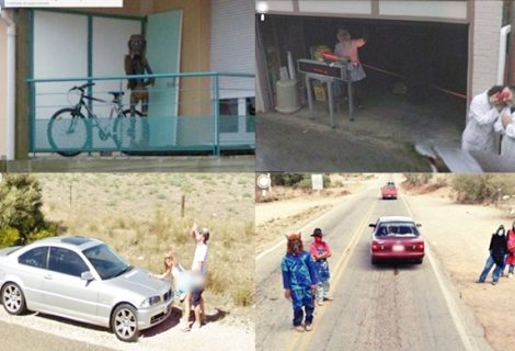 80 funny, creepy, strange, disturbing Google Street View Images