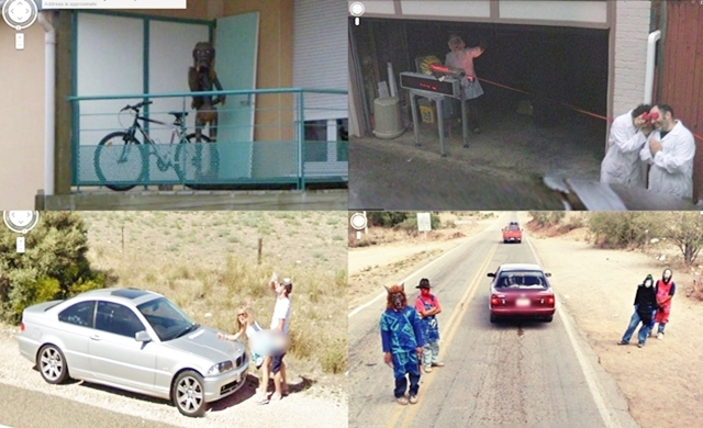80 funny, creepy, strange, disturbing Google Street View Images