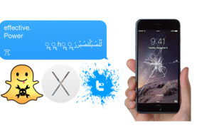 iPhone Message Crash Bug now targeting Snapchat, Twitter, Mac OS X