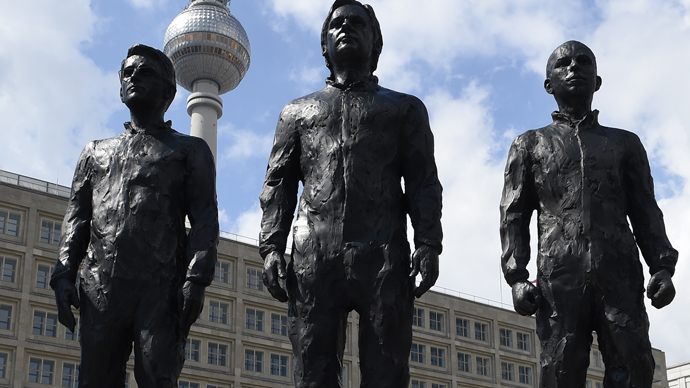 Statues of Snowden, Assange, Manning unveiled in Berlins ...