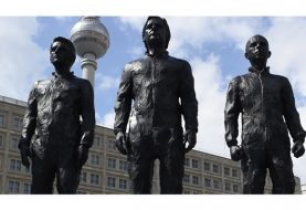 Statues of Snowden, Assange, Manning unveiled in Berlin's Alexanderplatz square