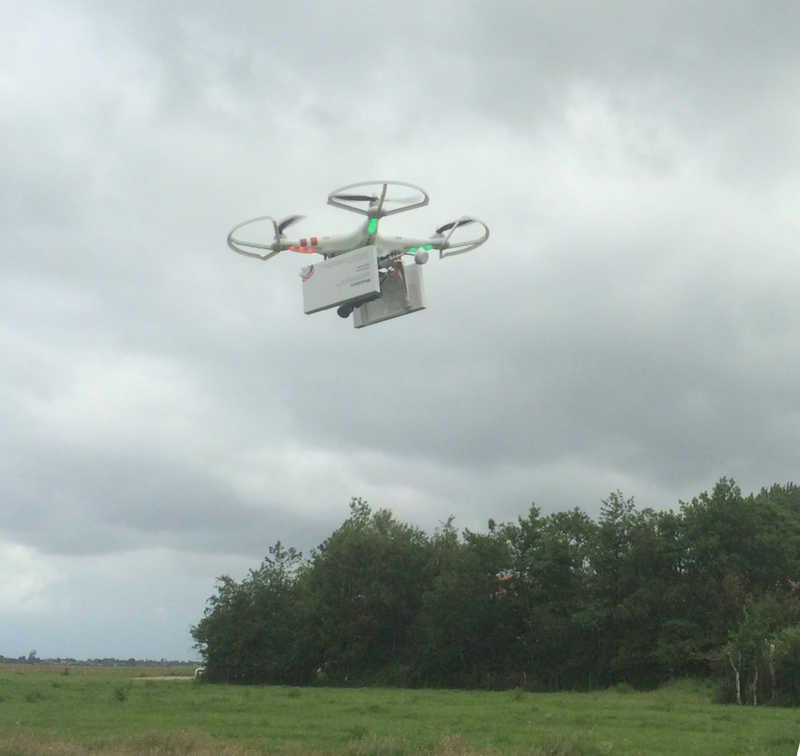 abortion drone landing