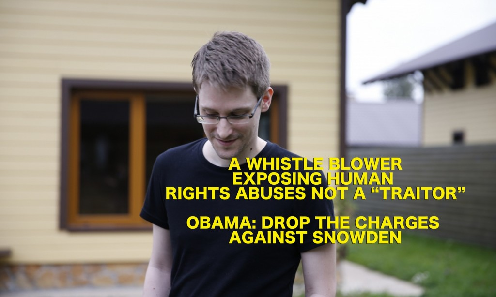 "Amnesty Launches ""Don't Punish Edward Snowden"" Campaign"