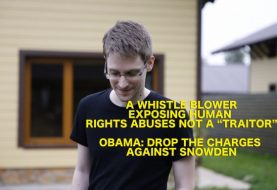"""Amnesty Launches """"Don't Punish Edward Snowden"""" Campaign"""