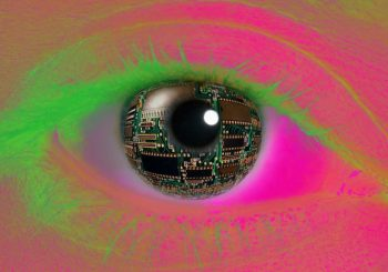 Google Patents for contact lens that can scan your Iris