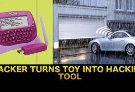 Hacker uses Toy to Hack and Open Garage Doors in Seconds