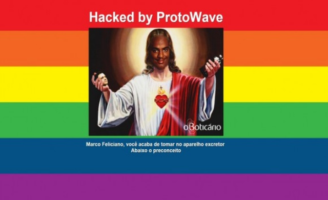 Homophobic Pastor's Website Hacked During Gay Pride Parade