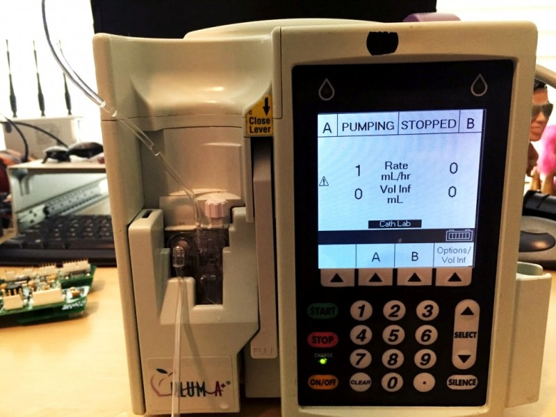 Researcher Claims Hospital Drug Pumps Can Be Hacked