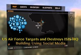 US Air Force Bombs ISIS HQ after Tracking Location Through Social Media Post