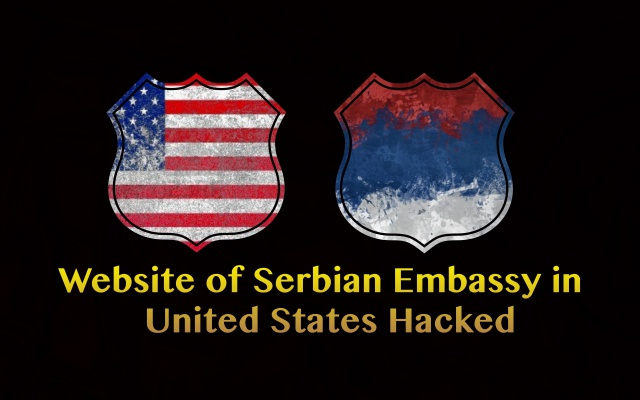Website of Serbian Embassy in the United States Hacked