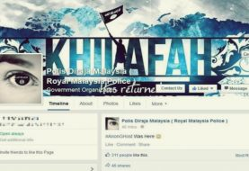 Malaysian Police Facebook, Twitter Accounts Hacked by Pro-ISIS Hackers