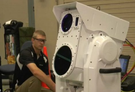 Boeing's New Portable Laser Cannon to Shoot Drones Right Across The Sky
