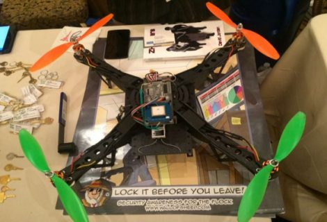 This Aerial Assault Drone Can Hack Computers Inside Walled Compounds