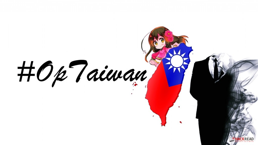 Anonymous Brings Down Taiwan Government Websites