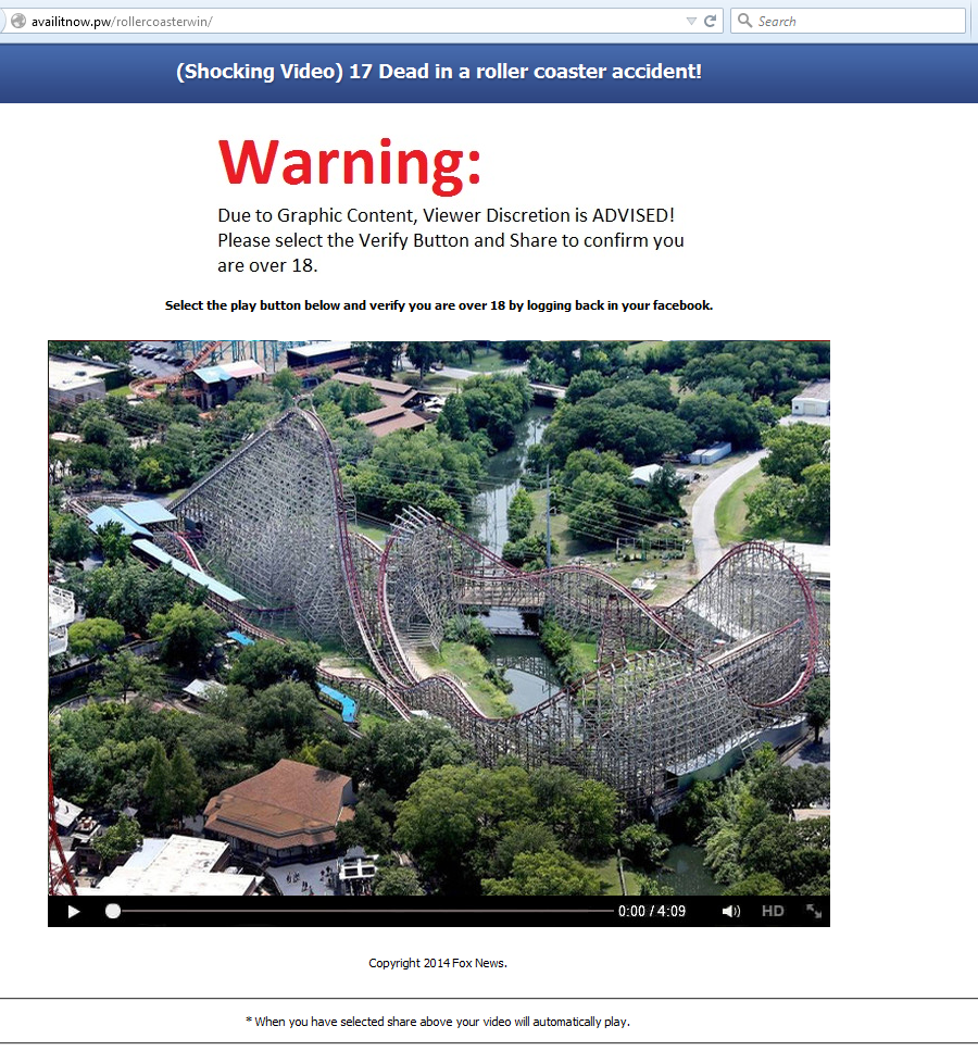 facebook-phishing-scam-17-dead-in-a-roller-coaster-accident