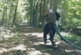 Google's Humanoid Robot Goes for Hiking