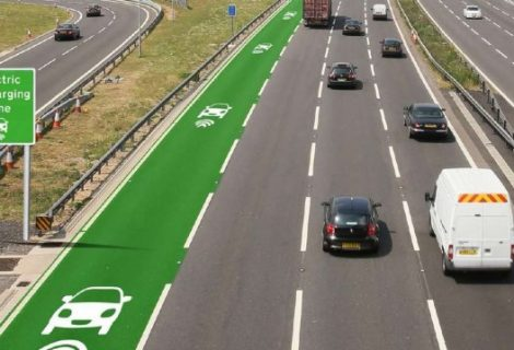 UK Experimenting with Roads that Wirelessly Charge Electric Vehicles