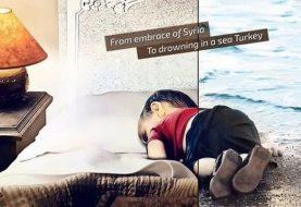 Edited, Photoshopped Images of Syrian Boy Washed Ashore Go Viral