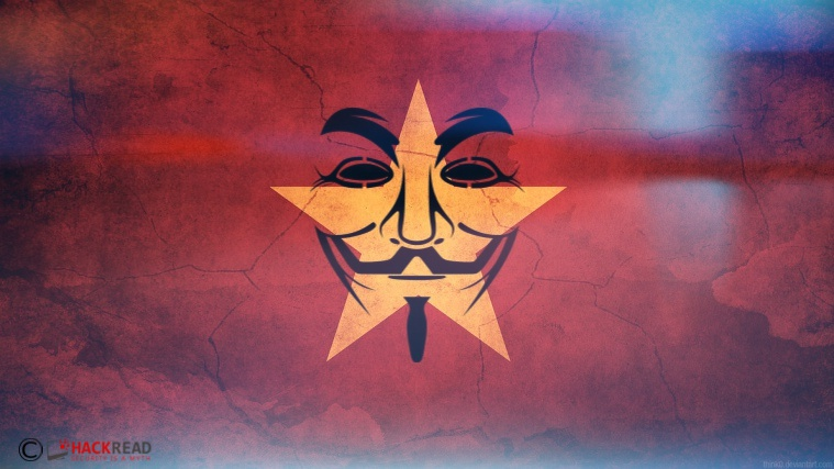 Anonymous Hacks Vietnam Govt websites Against Human Rights Abuse