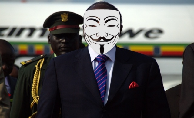 Anonymous Knocks Down Zimbabwe Herald Website