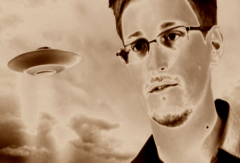 Do You Believe in Aliens? Well, Edward Snowden Does