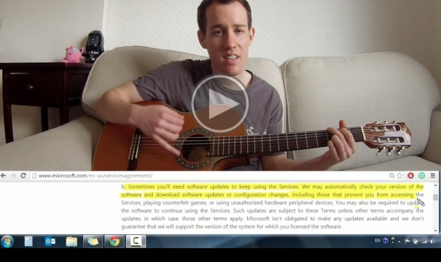 Dude exposes Windows 10 Spying tactics in a beautiful song